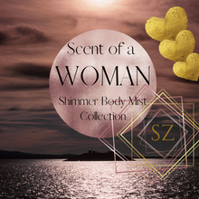Load image into Gallery viewer, Scent of a Woman Shimmer Body Mist Collection