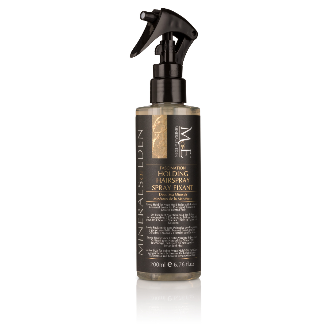MineralsofEden | FASHINATION Holding Hairspray Strong 200ml | Professionele Haarproducten | Kapsalon | ITSYOURHAIR
