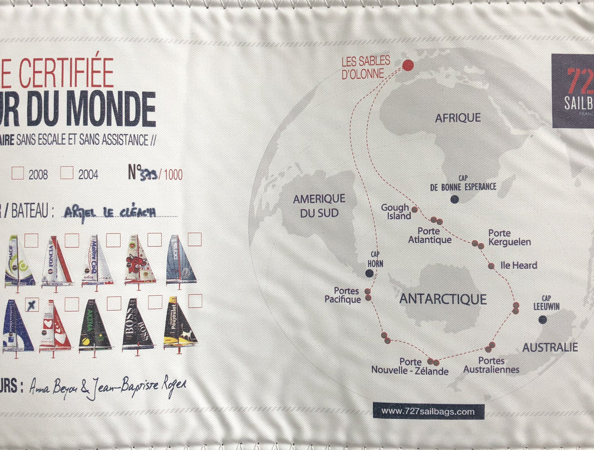Tablet case - 11 inches - Recycled Vendee Globe sail