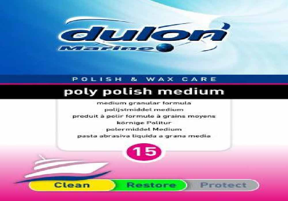 DULON POLY POLISH MEDIUM 15 - Omniyacht®