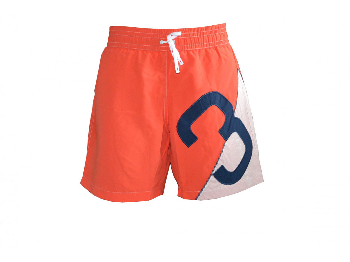 Swim Trunks - Raphael Swimsuit Spinnaker, Coral