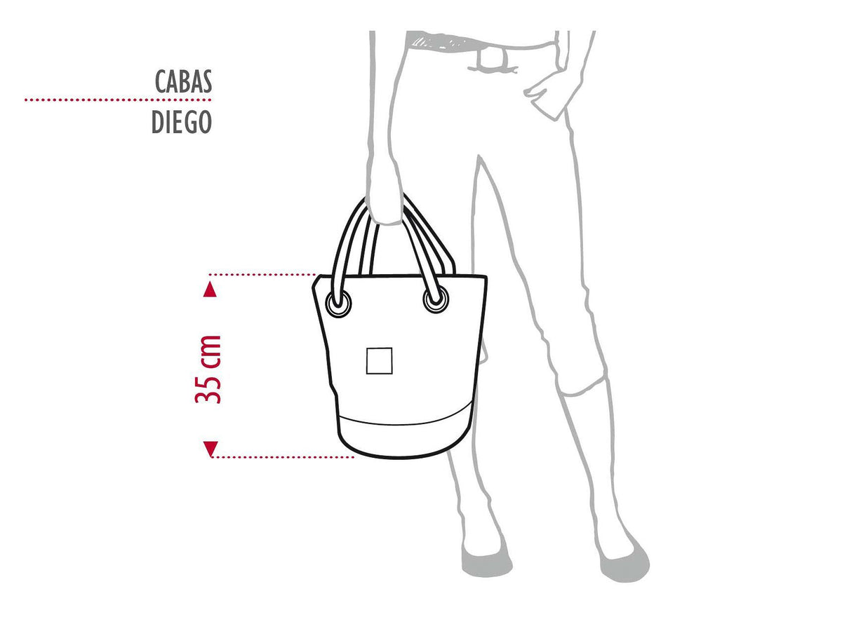 "Sports Bag ""Diego"" in Recycled Sail Genoa Jib"
