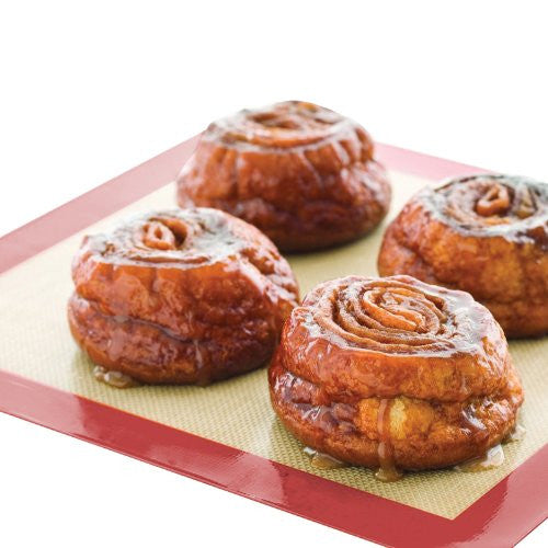 "HomeStart (2 pk.) Non-Stick Silicone Baking Mat Set 16 5/8"" x 11 1/2"""