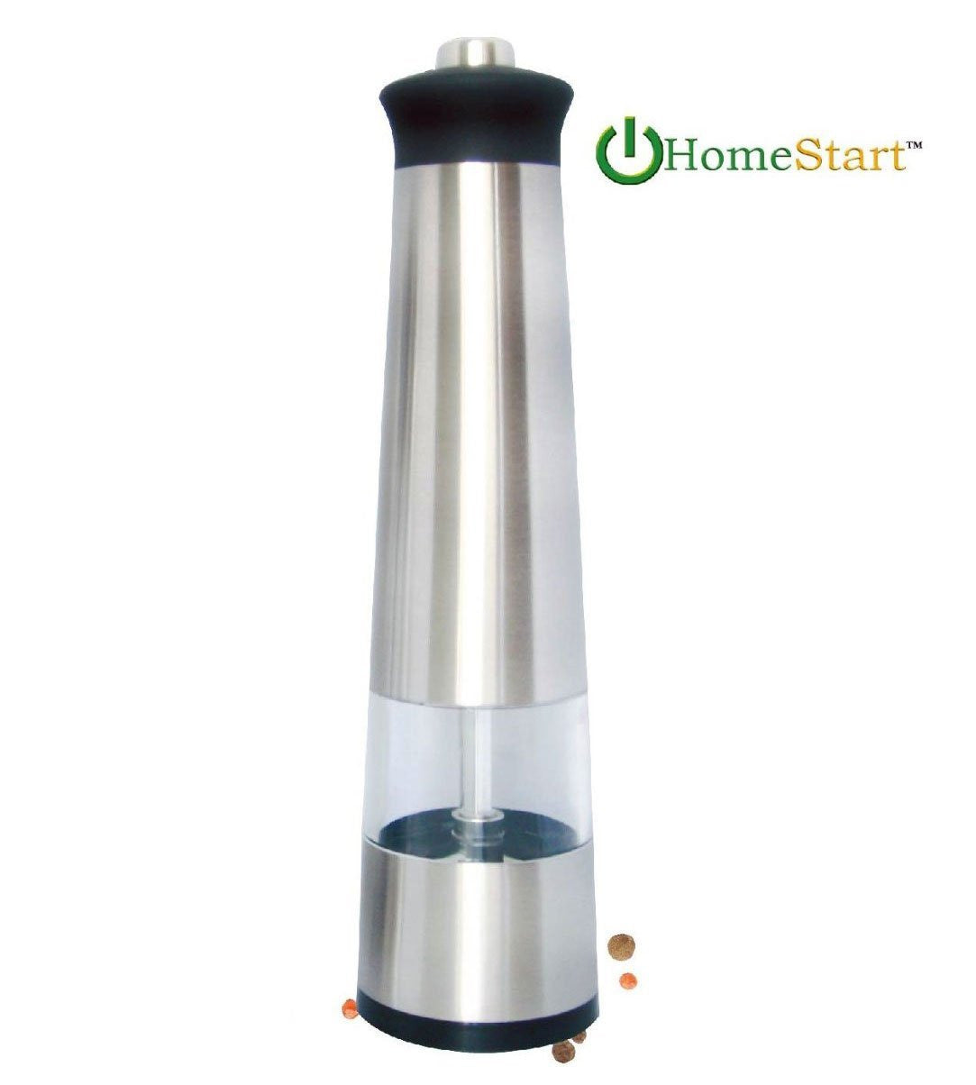 HomeStart Electric Salt & Pepper Grinder with LED Light