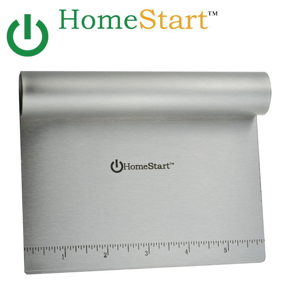 HomeStart Dough Scraper / Cutter / Chopper (Stainless Steel)