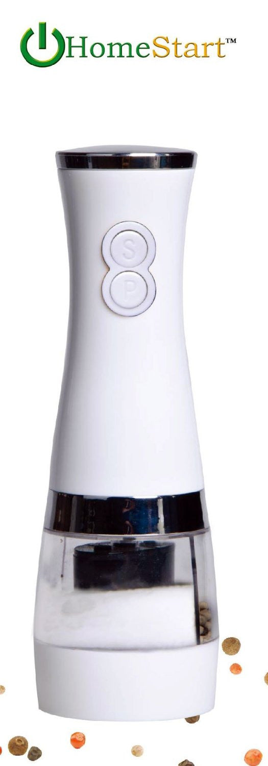 HomeStart 2 in 1 Electric Salt & Pepper Grinder