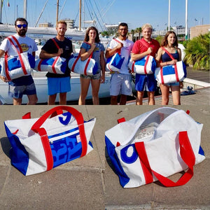 Charger l'image dans la galerie, Duffel Bravo Medium, sail instructors team J-M sails and Bags