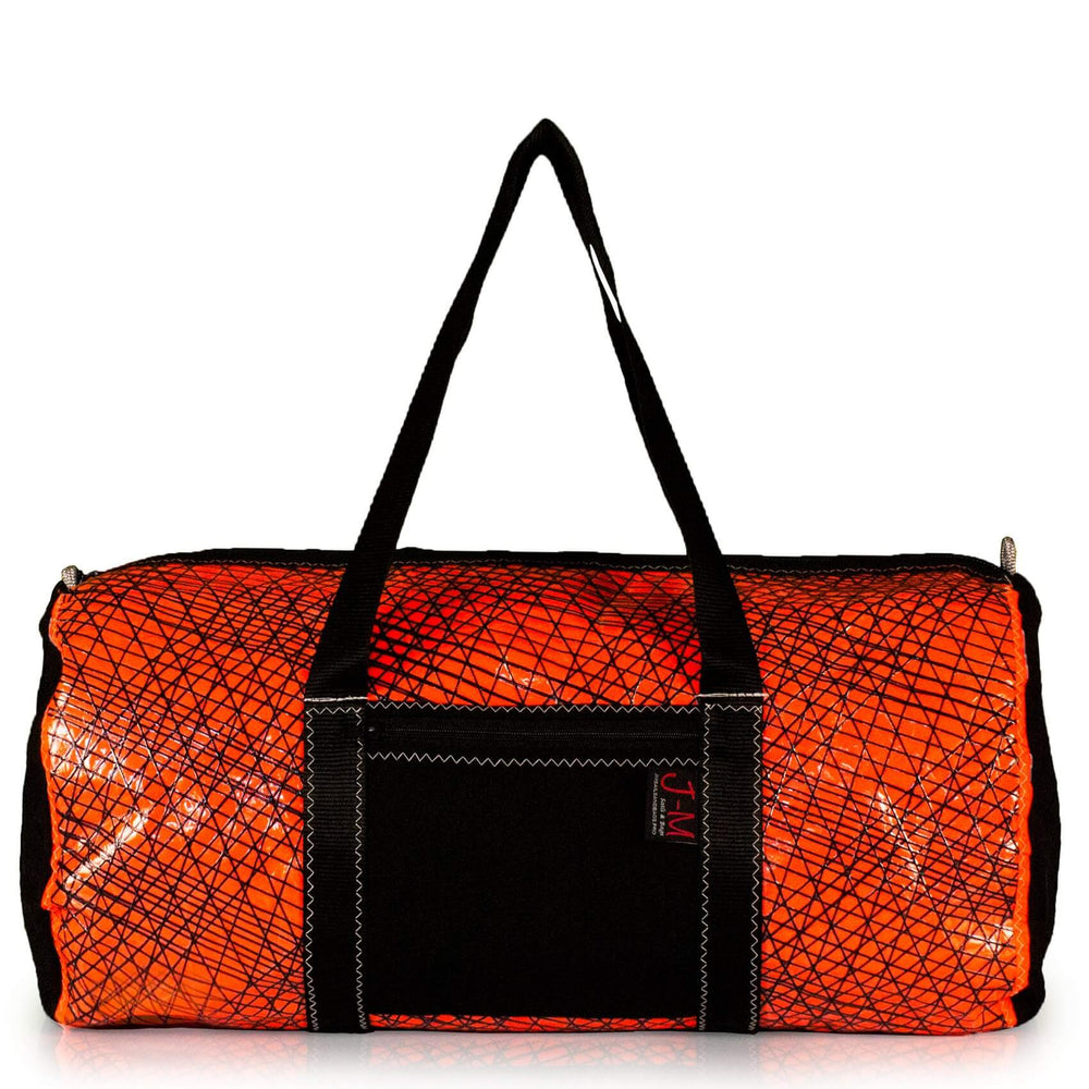 Duffel Alfa orange / black (FS) J-M Sails and Bags
