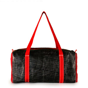Load image into Gallery viewer, Duffel bag bravo small, 3Di black, red by JM Sails and Bags (BS)