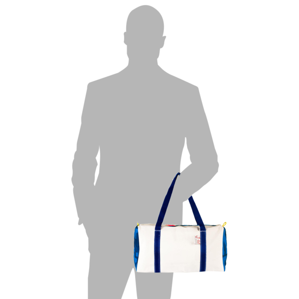 Load image into Gallery viewer, Duffel bag bravo small, size model by JM Sails and Bags