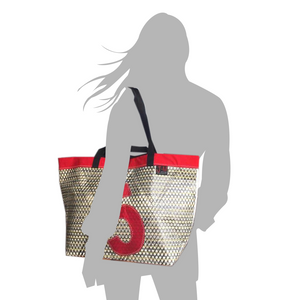 Tote bag Delta with size model (FS) by JM Sails and Bags
