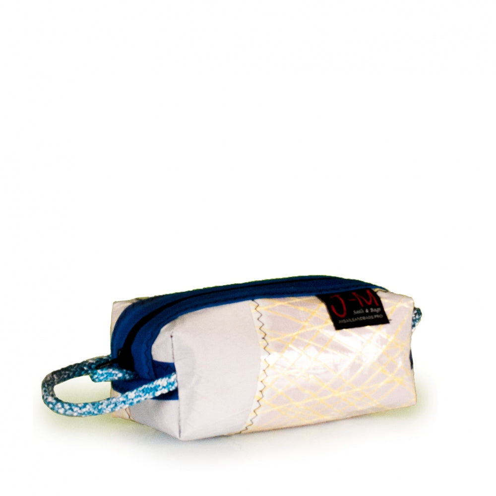 Toiletry bag Golf small, patchwork / electric blue (45) J-M Sails and Bags