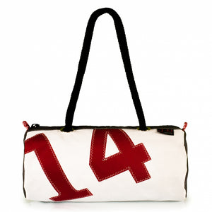 Handbag ECHO, dacron / grey / red 14, (FS) J-M Sails and Bags