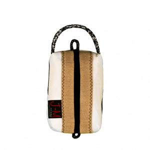 Toiletry bag Golf small, white / beige / #6 (FS) J-M Sails and Bags