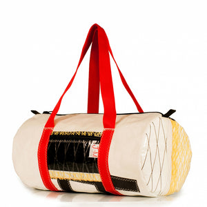 Duffel bag medium white / kevlar /ita(45°) JM Sails and bags