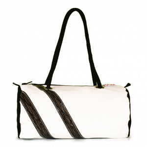Load image into Gallery viewer, Handbag ECHO, dacron / Code 0 stripes (FS) J-M Sails and Bags