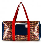 Duffel Bravo Large, carbon / kevlar / blue / red (FS) JM Sails and Bags