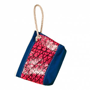 Pouch Hotel, technora / pink / blue (BS) J-M Sails and Bags