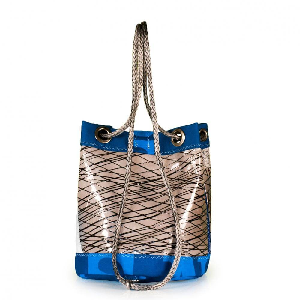 Shoulder bag Charlie, 3DL demo / blue / grey (BS) J-M Sails and Bags