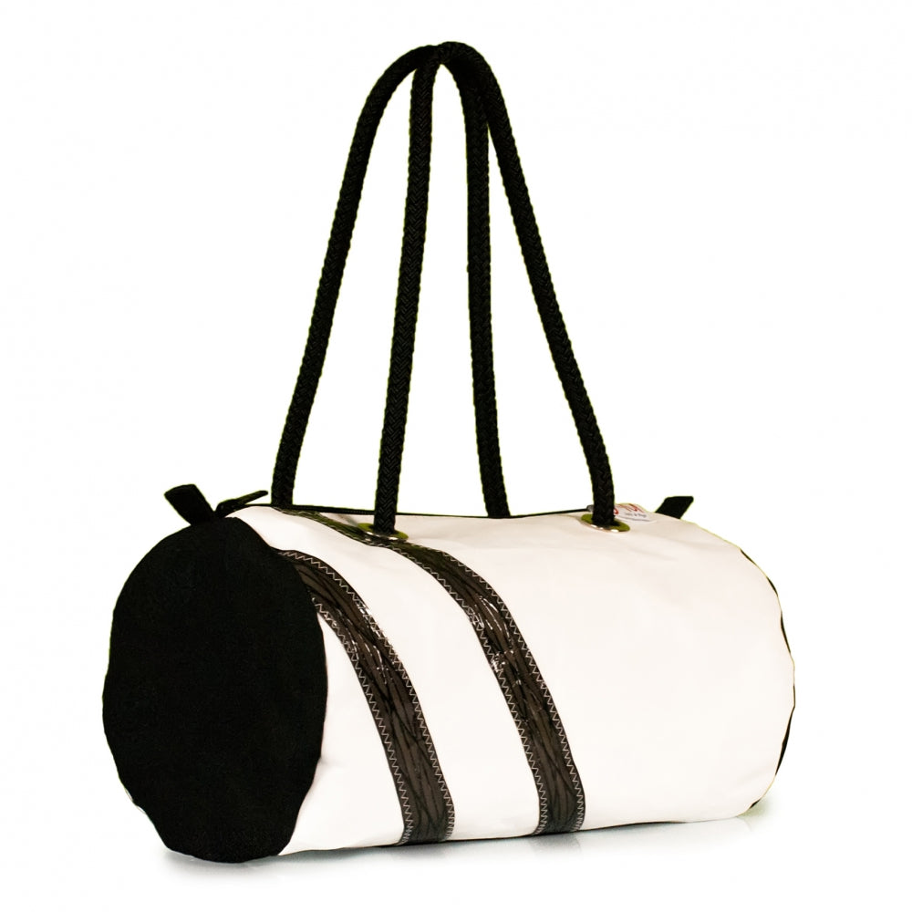 Load image into Gallery viewer, Handbag ECHO, dacron / Code 0 stripes (45) J-M Sails and Bags
