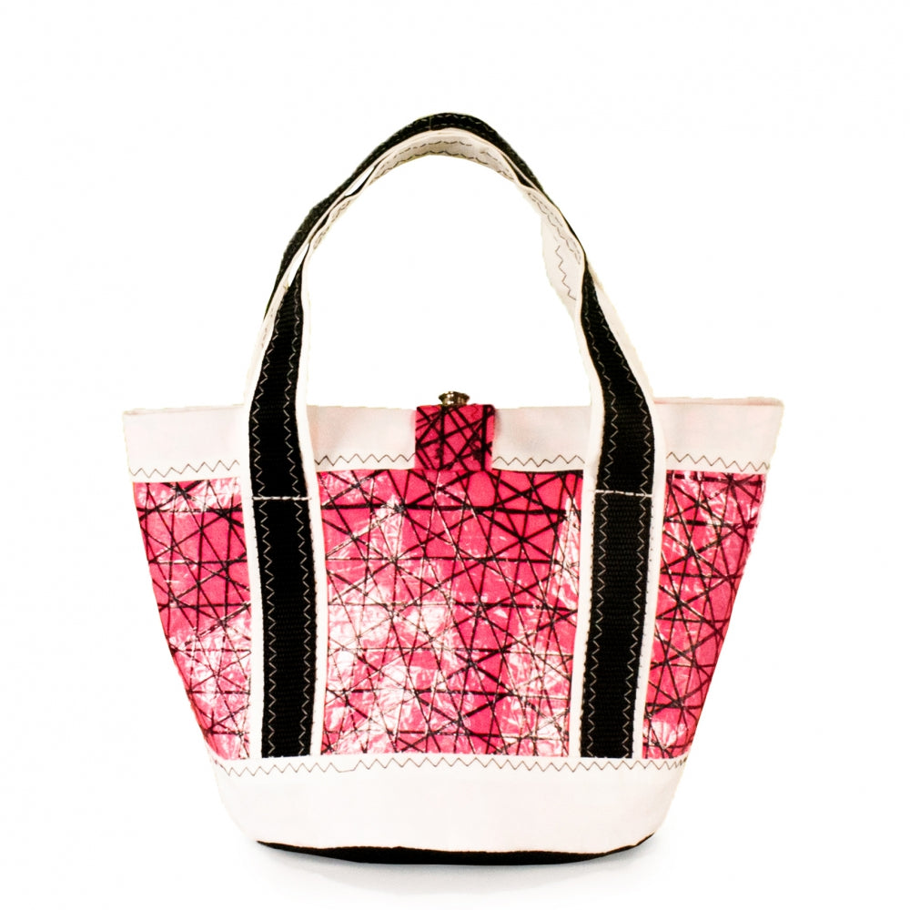 Handbag Tango,technora / pink / white / black (BS) J-M Sails and Bags