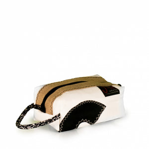 Toiletry bag Golf small, white / beige / #6 (45) J-M Sails and Bags