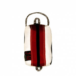 Toiletry bag Golf small, white / red (FS) J-M Sails and Bags