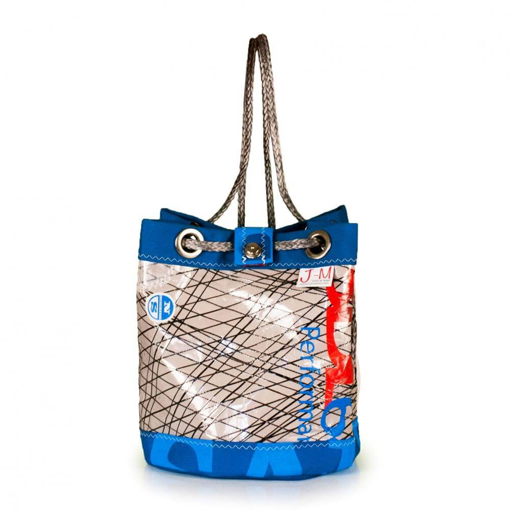 Shoulder bag Charlie, 3DL demo / blue / grey (FS) J-M Sails and Bags