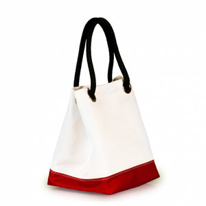 Handbag Foxtrot, dacron / red (45) J-M Sails and Bags  Edit alt text