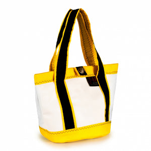 Handbag Tango white and yellow (45) J-M Sails and Bags  Edit alt text
