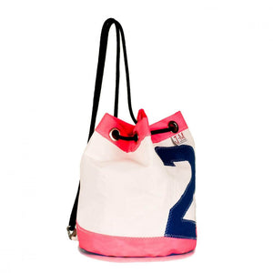 Bucket bag India white / pink (45) J-M Sails and Bags  Edit alt text