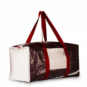 Duffel Bravo Large, technora / red / white / #1 (45°) JM Sails and Bags