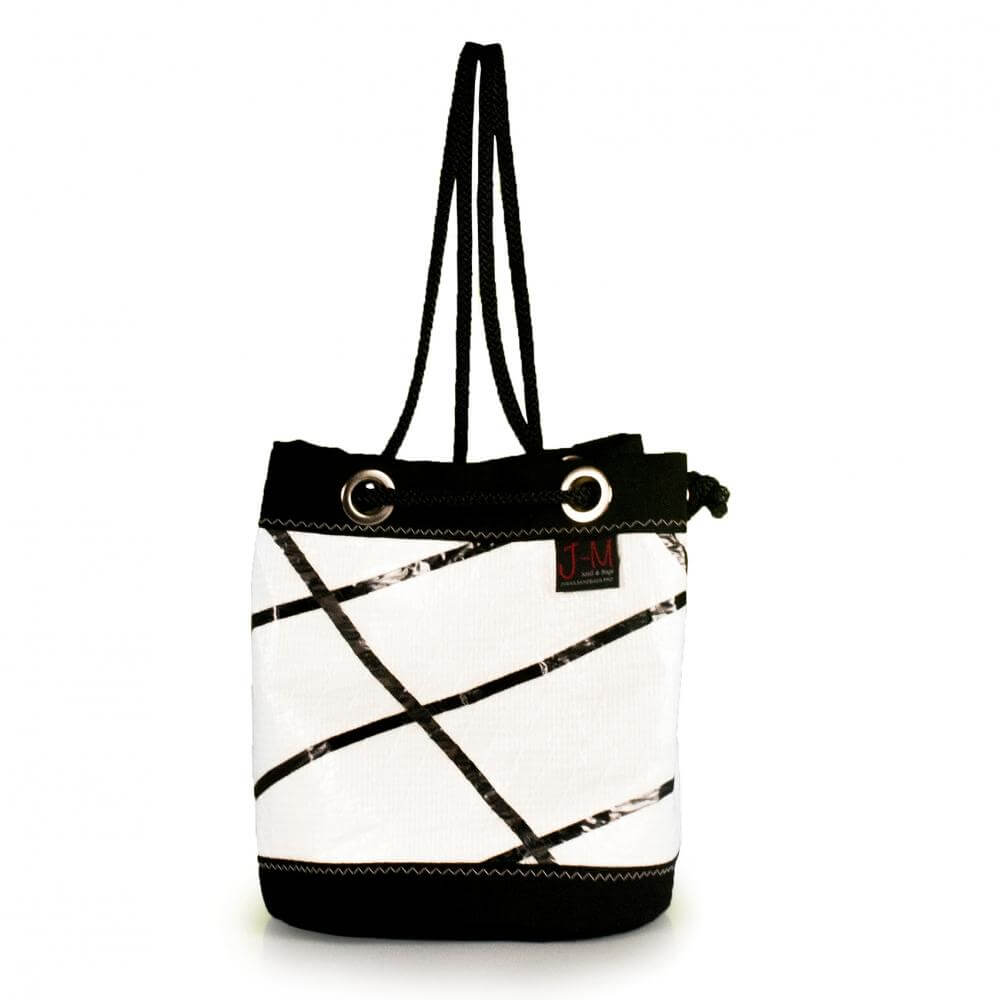 Shoulder bag Charlie, carbon-spectra / black (FS) J-M Sails and Bags