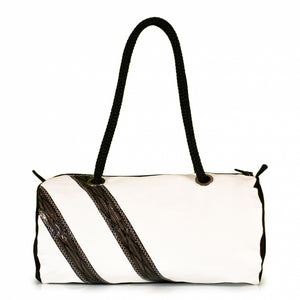 Handbag ECHO, dacron / Code 0 stripes (BS) J-M Sails and Bags
