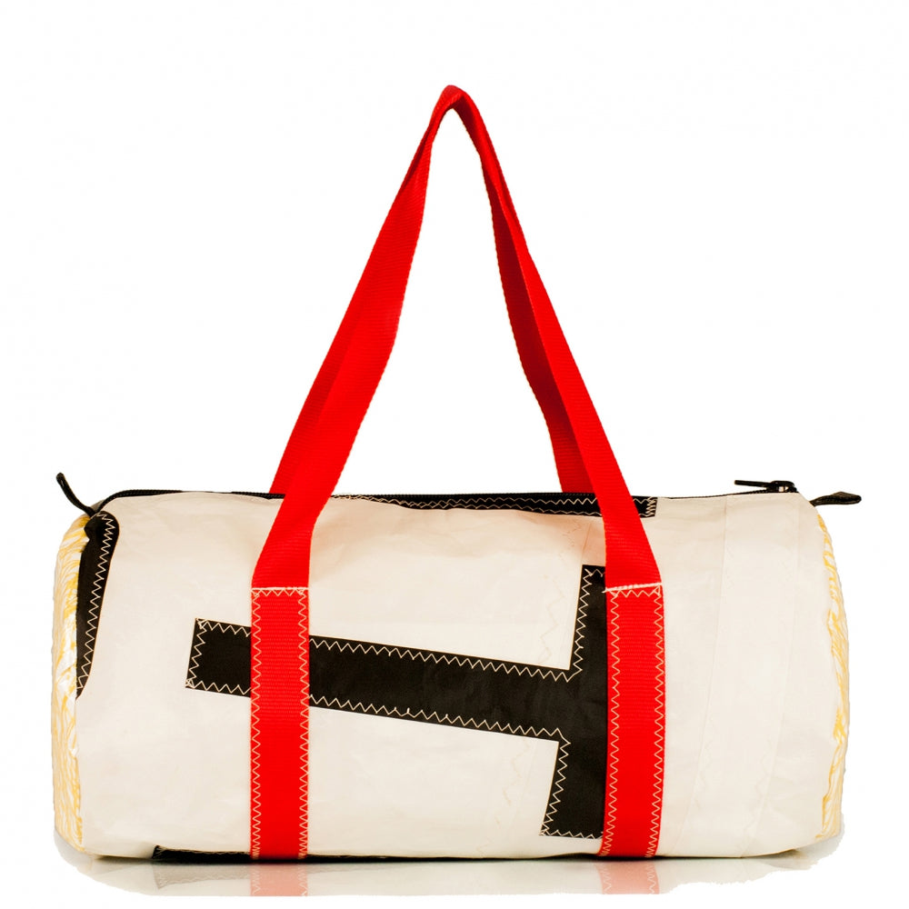 Duffel bag medium white / kevlar (BS) JM Sails and bags