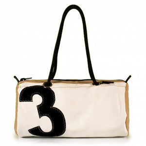 Handbag ECHO, dacron / Beige / #3 (FS) J-M Sails and Bags
