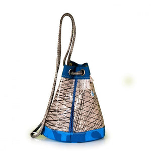 Shoulder bag Charlie, 3DL demo / blue / grey (45) J-M Sails and Bags