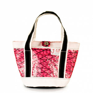 Handbag Tango,technora / pink / white / black (FS) J-M Sails and Bags