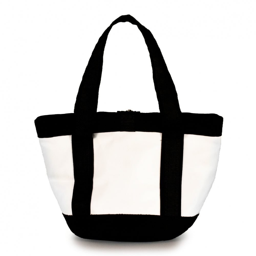 Handbag Tango white and black (BS) J-M Sails and Bags