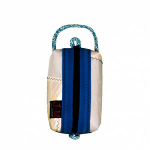Toiletry bag Golf small, patchwork / electric blue (BS) J-M Sails and Bags