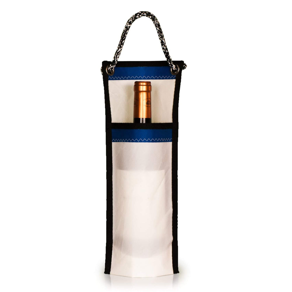 Bottle holder, Polikote / blue, J-M Sails and Bags
