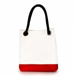 Handbag Foxtrot, dacron / red (FS) small J-M Sails and Bags