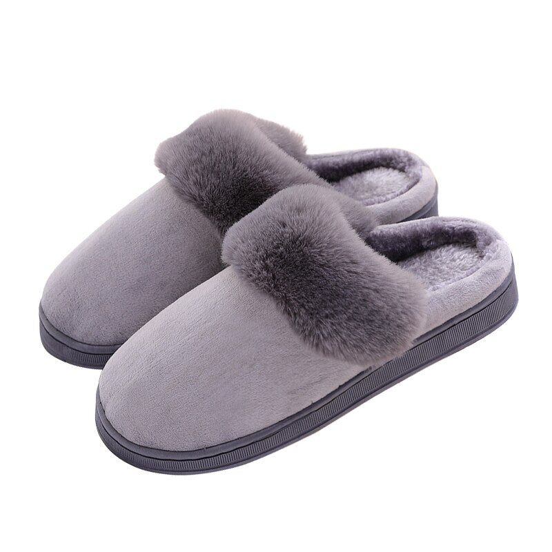 2020 New Fashion Autumn Winter Cotton Slippers Rabbit Ear Home Indoor Slippers Winter Warm Shoes Womens Cute Plus Plush Slippers