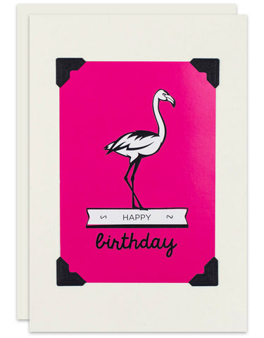 Birthday Flamingo
