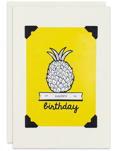 Birthday Pineapple