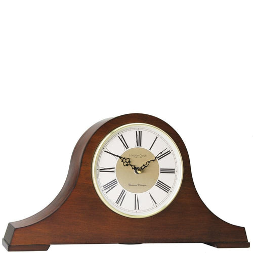 Wooden Napoleon style 4 x 4 Westminster-Ave Maria chime quartz mantel clock