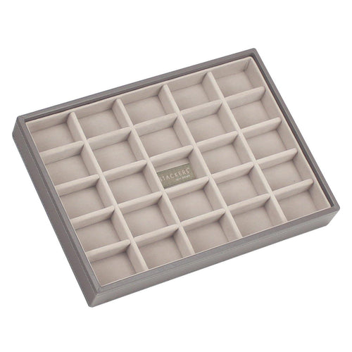 PREMIUM Stackers Mink Jewellery Box 25 Section tray