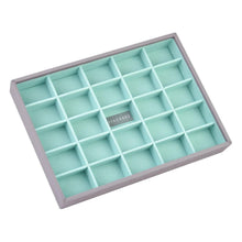 Load image into Gallery viewer, Dove Grey with Mint Stackers Classic Size Set of 3