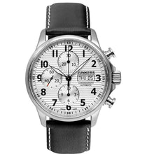Load image into Gallery viewer, Junkers Tante Ju Chronograph Pilots Automatic Wrist Watch
