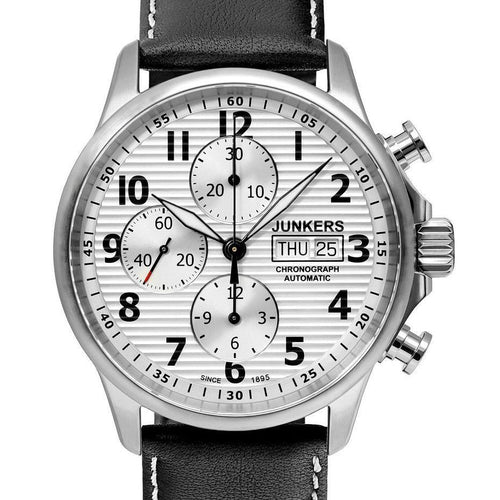 Junkers Tante Ju Chronograph Pilots Automatic Wrist Watch